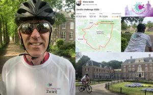 47,5 km cycling