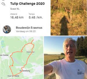 5,5 km running