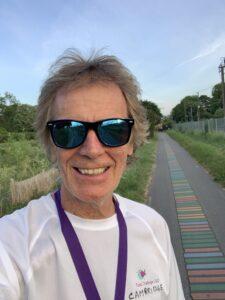 8 km run