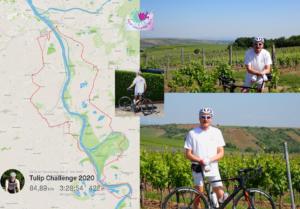85 km cycle