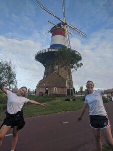 7 km run