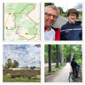 40 km cycling