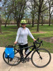 32 km (20 miles) cycling