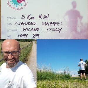 5 km run