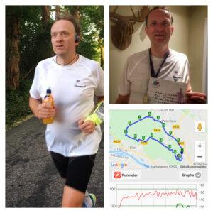 16 km run