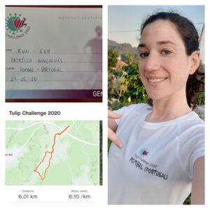 6 km run