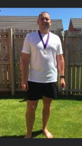 24 km (15 miles) run