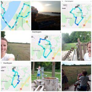3x 5 km run, 27 km cycle